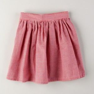 LOWEST PRICE American apparel red gingham skirt